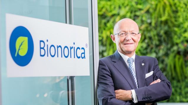 Guter Dinge:Prof. Dr. Michael A. Popp, Vorstandsvorsitzender der Bionorica SE. (Foto: Unternehmen)
