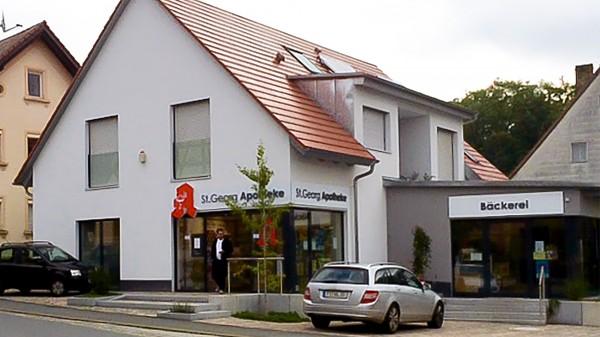 Apotheker belebt neues Dorfzentrum in Oberfranken