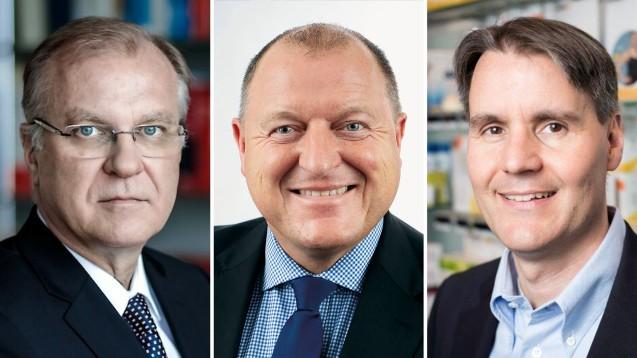 Von links nach rechts: Klaus Michels, Armin Hoffmann und Holger Seyfarth. (Fotos: AVWL / AKNR / HAV)