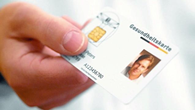 Weiterhin umstritten: Die elektronische Gesundheitskarte. (Foto: BMG)