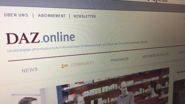 DAZ.online hat eine neue Chefredaktion. (Foto: DAZ.online)