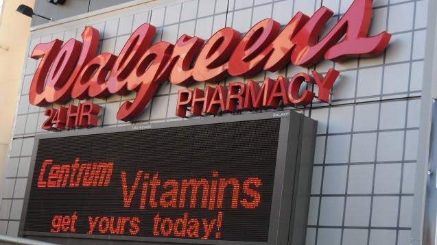 Bahnt sich der nächste Megadeal im US-Gesundheitsmarkt an? Gerüchten zufolge will Walgreens Boots Alliance weiter expandieren. (Foto: Dean Pictures / imago)