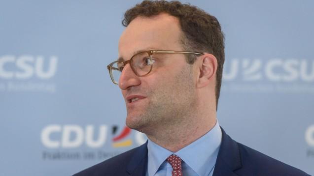 Bundesgesundheitsminister Jens Spahn (CDU) versucht seine Partei nach den Landtagswahlen in Ostdeutschland zu vereinen und zu beruhigen. (Foto: imago images / photothek)