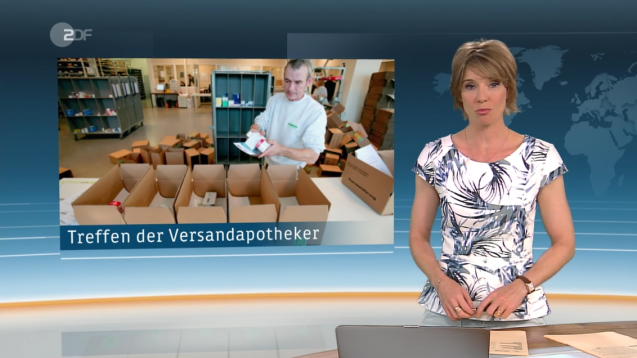 Die Nachrichtensendung ZDF heute hat sich anlässlich des BVDVA-Kongresses dem Versandhandel gewidmet. (Quelle: ZDF heute)