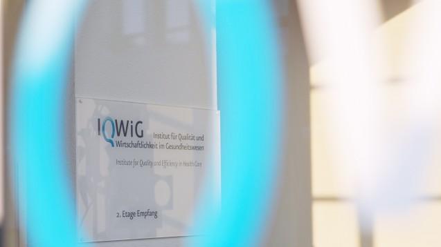Das IQWiG hat Edoxaban auf seinen Zusatznutzen überprüft. (Foto: IQWiG)
