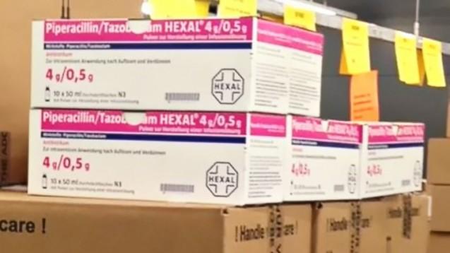 Noch gibt es Piperacillin/Tazobactam. Pharmazeutische Unternehmern kontingentieren das Antibiotikum. (Foto: cel / DAZ.online)