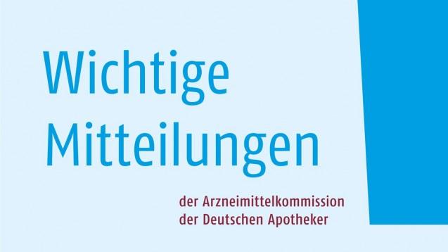"""Die """"Wichtigen Mitteilungen"""" der AMK finden Sie auch online."""