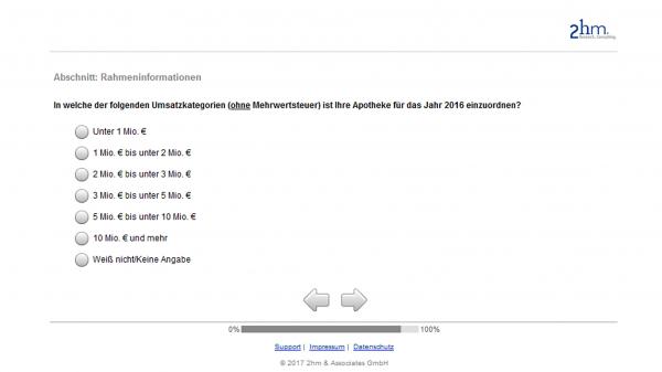 Apotheken-Umfrage in zwei Varianten im Umlauf
