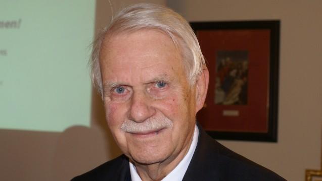 Dr. Jörn Graue bleibt weitere vier Jahre Vorsitzender des Hamburger Apothekervereins. (Foto: Müller-Bohn)