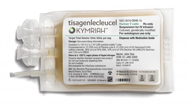 Die FDA beabsichtigt de zweite Indikation der Gentherapie Kymriah beschleunigt zu bearbeiten (Bild: Picture Alliance)