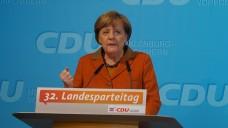 Die Bundeskanzlerin Angela Merkel betonte auf dem Landesparteitag der CDU Mecklenburg-Vorpommern die Vorteile von Vor-Ort-Apotheken. (Foto: CDU Landesverband)