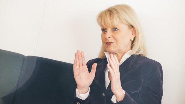 Die gesundheitspolitische Sprecherin der Unionsfraktion (CDU) Karin Maag bleibt beim RX-Versandverbot. (Foto: Külker)