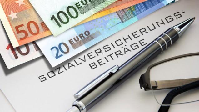Die GKV dämpft das Plus der gesetzlichen Sozialversicherung. (Foto: butch/Fotolia)