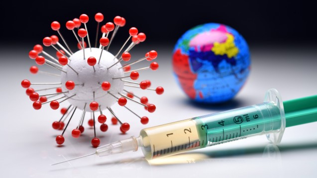 Das Coronavirus SARS-CoV-2 verändert sich, Biontechs Impfstoff soll dennoch wirken. (Foto: imago images / Christian Ohde)