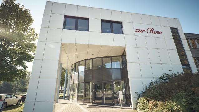 Die Schweizer Zur Rose Group sieht sich gerüstet für einen Wettbewerb mit Amazon. (x / Foto: Zur Rose)