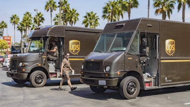 UPS will künftig in den USA Impfstoffe ausliefern. (Foto: imago).