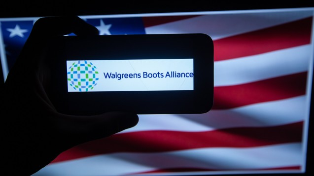 Der auch in Deutschland aktive Apothekenkonzern Walgreens Boots Alliance kooperiert in den USA mit dem IT-Unternehmen Verily. (Foto: Imago)