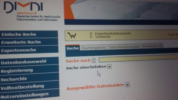 Medizinische Literaturdatenbanken in Deutschland vor dem Aus