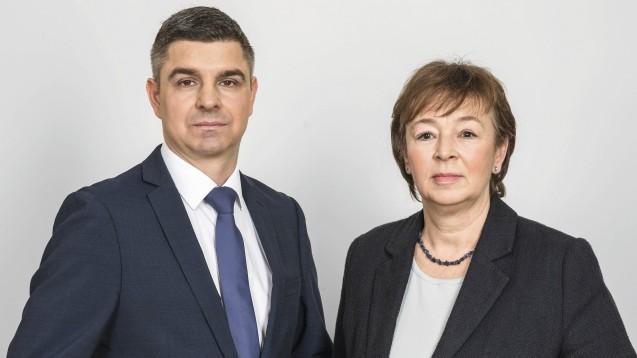 Andreas May und Tanja Kratt fehlt jedes Verständnis dafür, wie sich Minister Spahn über den Koalitionsvertrag hinwegsetzt. (Foto: Adexa)