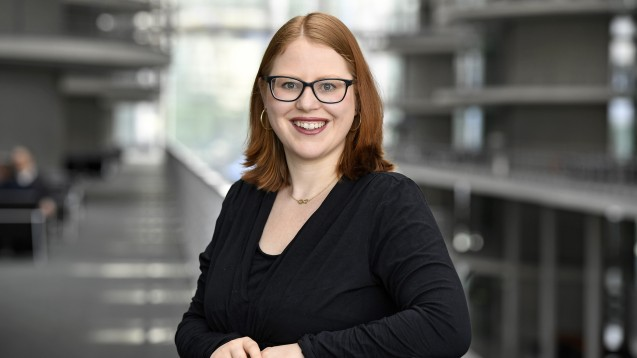 Katrin Helling-Plahr (FDP) hält es für sinnvoll, wenn auch geschulte Apotheker:innen Corona-Schnelltests durchführen könnten. (p / Foto: DBT/ Stella von Saldern)