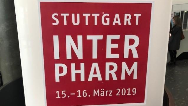 Die Interpharm findet in diesem Jahr in Stuttgart statt. (Foto: DAZ.online)