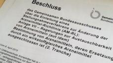 Die Substitutionsausschlussliste soll erweitert werden. (Foto: DAZ)
