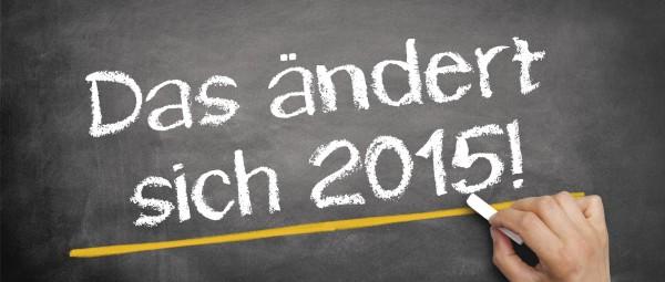Neues Jahr, neue Vorschriften