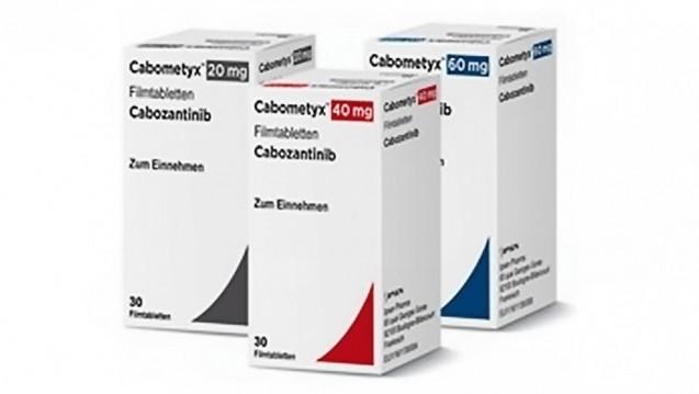Das 2016 in den Markt eingeführte Cabometyx wird gegen Nierenkrebs eingesetzt. Hintergrund des Streits ist die Einstufung von Cabometyx als wirkstoffgleich mit Cometriq. (Foto: Ipsen Pharma)
