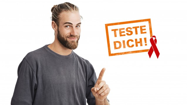 Ratiopharm vertreibt seinen HIV-Selbsttest ab Oktober in Deutschland apothekenexklusiv. Aber es gibt auch andere Anbieter. (s / Foto: obs/Teva GmbH/Pyrus Werbeagentur Ulm)