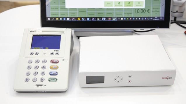 Die KoCo Box ist einer der bereits zugelassenen Konnektoren für den Zugang der Apotheker zur TI. (x/Foto: Schelbert)