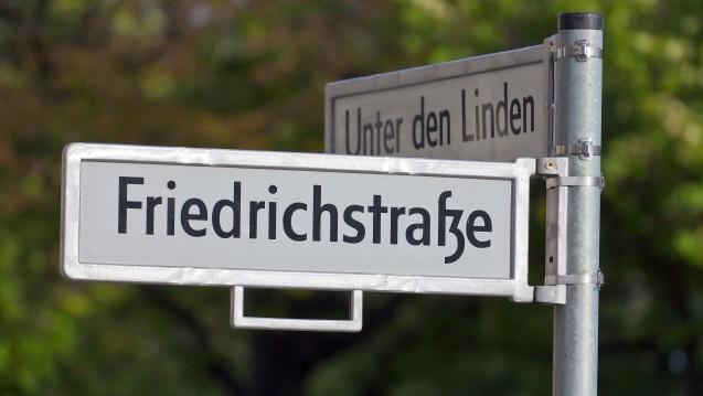 Die ABDA hat ab Mitte November eine neue Zwischenbleibe in der Friedrichstraße Ecke Unter den Linden. (Foto: philipk76/Fotolia)