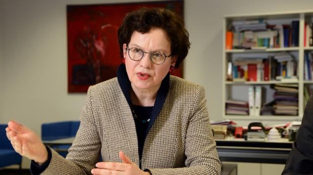 Jetzt beschäftigt sich auch Maja Smoltczyk, Datenschutzbeauftragte des Landes Berlin, mit der Sicherheitslücke im DAV-Portal. (Fb/oto: IMAGO / tagesspiegel)