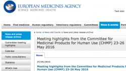 Die EMA hat einer neuen Kombi gegen Diabetes und zwei neuen Präparaten gegen Hepatitis C die Zulassung erteilt. (Screenshot: DAZ.online)