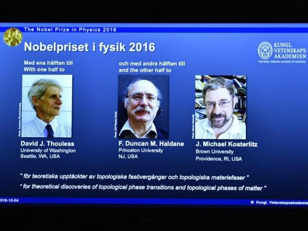 Nobelpreis für Beschreibung exotischer Materiezustände