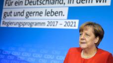 Es geht los: Bundeskanzlerin Angela Merkel (CDU) will ab dem 18. Oktober mit FDP und Grünen über eine mögliche Jamaika-Koalition verhandeln. (Foto: dpa)
