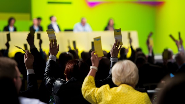 Ohne Aussprache für Apothekenketten: Die FDP hat sich am vergangenen Wochenende für die Abschaffung des Fremdbesitzverbotes ausgesprochen, ohne darüber gesprochen zu haben. (Foto: dpa)