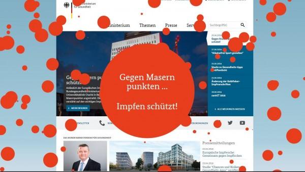 Bei Masern hinkt Deutschland immer noch hinterher