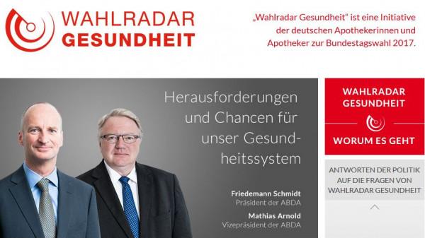 """ABDA startet """"Wahlradar"""" zur Bundestagswahl"""