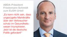 Facebook-Kommentar des ABDA-Präsidenten Friedemann Schmidt zum EuGH-Urteil.