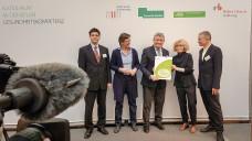 Der Nationale Aktionsplan Gesundheitskompetenz wurde am heutigen Montag in Berlin vorgestellt. (Foto: BMG / Kroll)