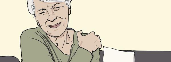Eine geriatrische Patientin mit Muskelkrämpfen, Übelkeit und Sturzneigung