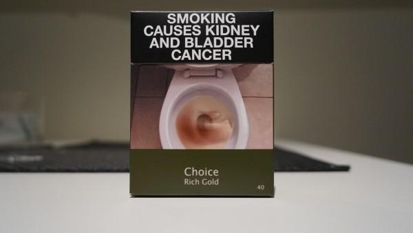 Zigaretten künftig mit Schockbildern