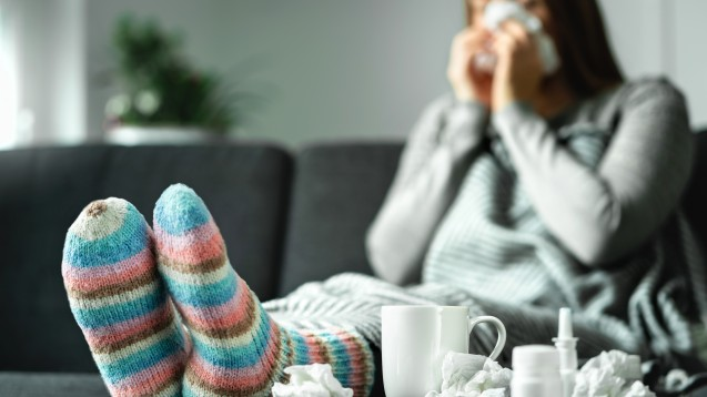Die Grippewelle dauert weiter an. Das RKI meldet sogar einen neuen Höchststand an Neuinfizierten in für die Grippesaison 2019/20. (b/Foto:terovesalainen / stock.adobe.com)