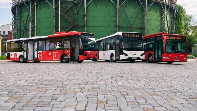 Die Deutsche Bahn startet eine neue Offensive mit ihrem Medibus, der in Teilen Deutschlands bereits getestet wird. (Foto: Deutsche Bahn)