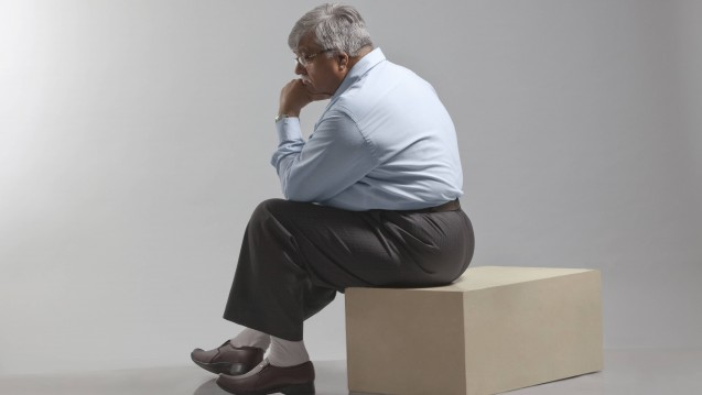 Depression und Übergewicht gehen häufig miteinander einher. Forscher fanden heraus, dass auch Normalgewichtige durch Antidepressiva ins Übergewicht rutschen können. (Foto: Imago)