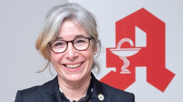 """ABDA-Präsidentin Gabriele Regina Overwiening: """"Wir werden das rote 'A' der Apotheken in der digitalen Welt sein. Ich glaube nicht, dass andere das schaffen."""" (Foto: ABDA/Bolk)"""