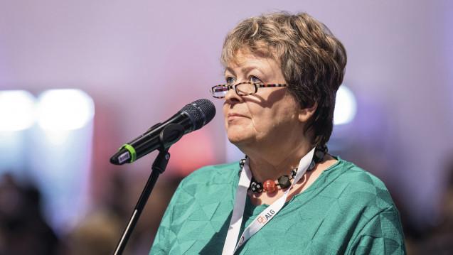 Kammerpräsidentin Magdalene Linz aus Niedersachsen kritisiert das Vorgehen des BMWi beim Honorar-Gutachten. (Foto: Schelbert)