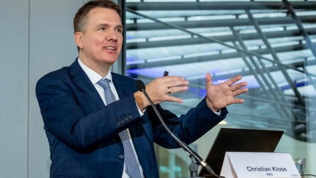 Christian Klose ist im Bundesgesundheitsministerium für die Themen Gematik und E-Health zuständig. Er erklärte, warum es für Apotheker keine Anbindungsfrist bei der Telematikinfrastruktur gibt. (c / Foto: Pietschmann/BAH)
