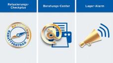 Der neue Premium-Bereich des DAP mit Retaxierungs-Checkplus, Beratungs-Center und Lager-Alarm. (Foto: DAP)