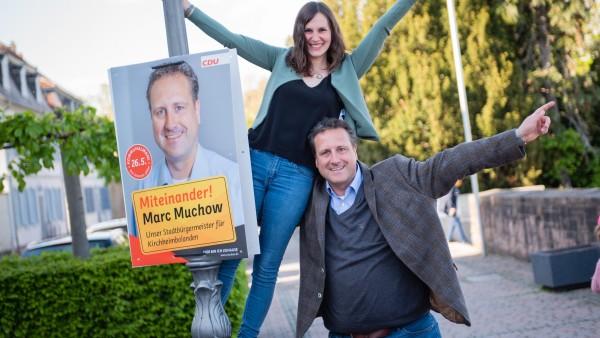 Apotheker Marc Muchow will Bürgermeister in Kirchheimbolanden werden